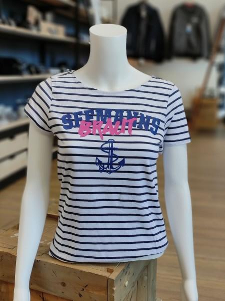 T-Shirt Seemannsbraut gestreift