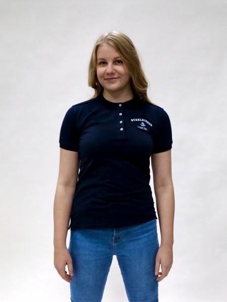 Polo-Shirt Damen mit Stretch/Slim