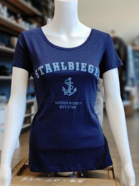 Premium T-Shirt Damen mit Rundhals