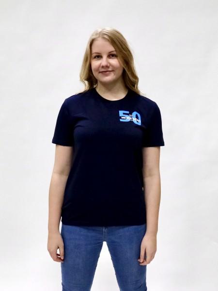 T-Shirt 50 Kreuzfahrtschiffe Meyer Werft, unisex