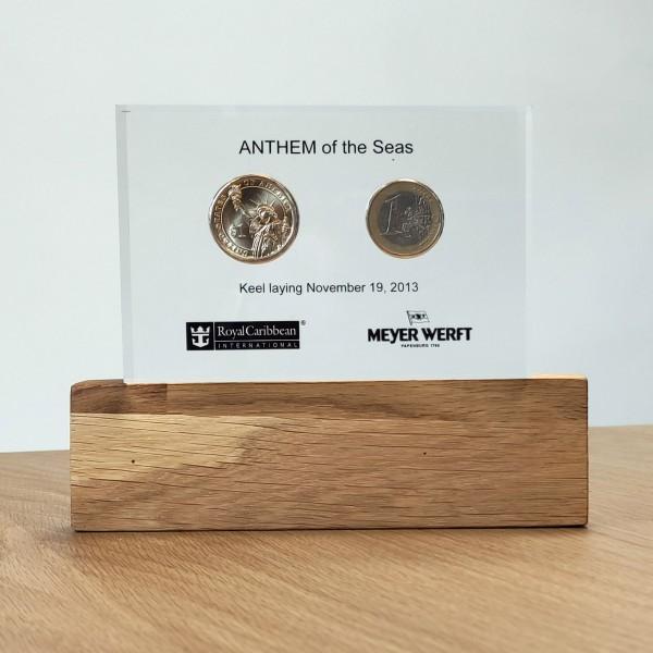 Kiellegungsmünzen ANTHEM of the Seas