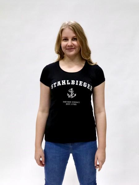 T-Shirt Damen mit Rundhals