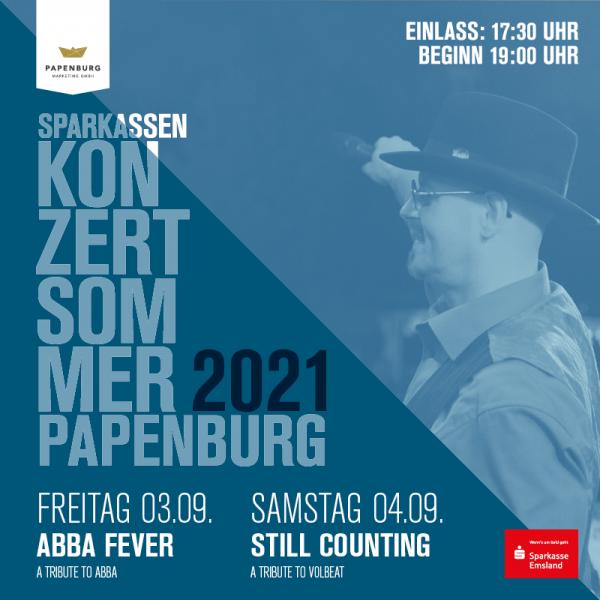 STILL COUNTING 04.09.2021 Sparkassen-Konzertsommer Papenburg