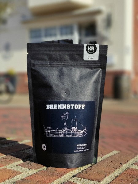 Kaffeebohnen Brennstoff
